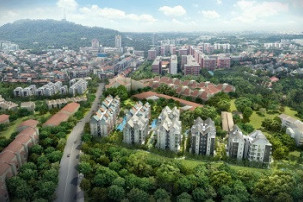 The Creek @ Bukit meanders towards being fully sold