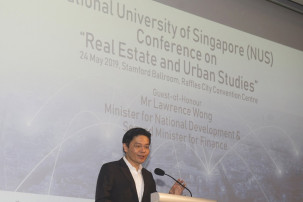 Government can't adopt 'hands-off' approach to managing property market: Lawrence Wong