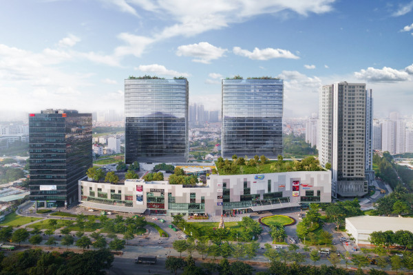 Mapletree unveils twin office towers, opens serviced apartments in Vietnam - EDGEPROP SINGAPORE