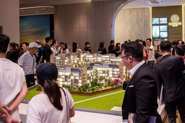 SingHaiyi welcomes 2,000 visitors to Gazania and Lilium showsuite during opening weekend - EDGEPROP SINGAPORE