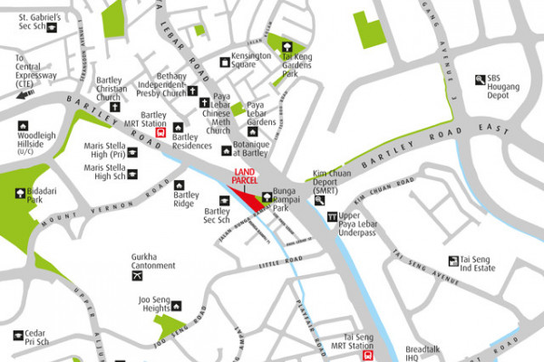Residential site at Jalan Bunga Rampai for sale by public tender - EDGEPROP SINGAPORE