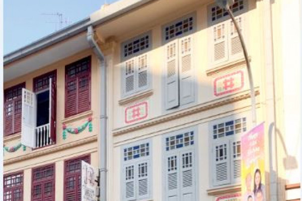 Conservation shophouse on Teo Hong Road on the market for $15 mil