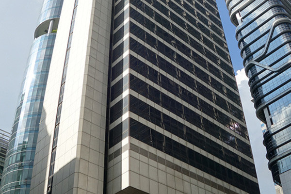 Two strata office floors at GB Building on Cecil Street for sale