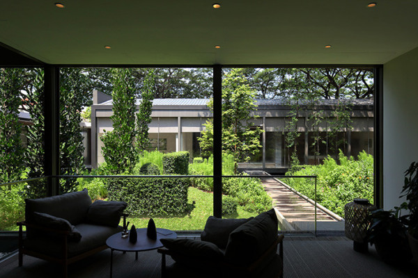 Luxury and privacy at Meyer House