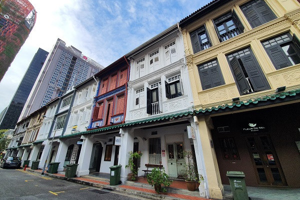 Portfolio of shophouses and retail units going for $33.3 mil - EDGEPROP SINGAPORE