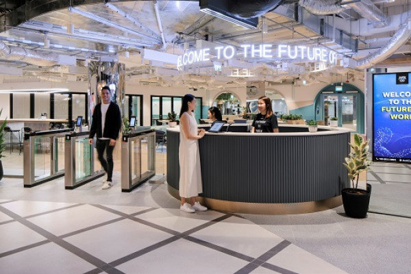 JustCo unveils its first tech-enabled workspace at The Centrepoint - EDGEPROP SINGAPORE