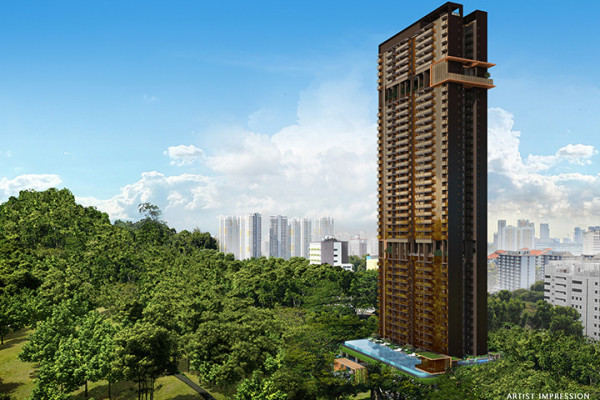 Sky-high facilities complement city-edge location at The Landmark - EDGEPROP SINGAPORE