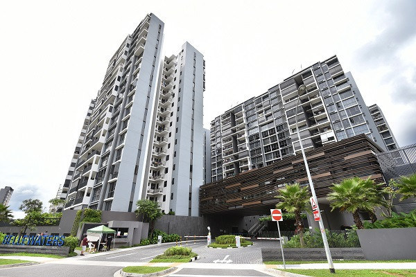 Pre-MOP four-bedder at Bellewaters EC on the market for $1.1 mil - EDGEPROP SINGAPORE