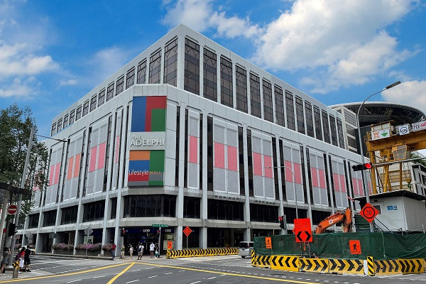 Strata retail unit at The Adelphi up for sale  - EDGEPROP SINGAPORE
