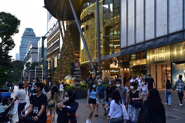 Fall in prime retail rents eases in 1Q2021: Knight Frank  - EDGEPROP SINGAPORE